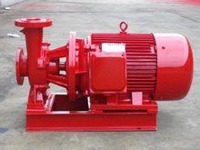 Horizontal Single Stage Centrifugal Fire Engine Pump