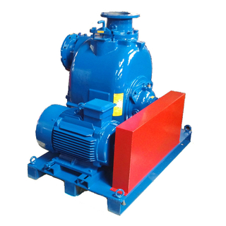 Belt Driven Electric Self-priming Trash Pump with Pulley