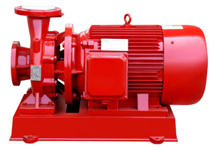 XBC-ISW Single Stage Horizontal Centrifugal Fire Fighting Pump