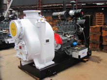 Heavy Duty Industrial Diesel Trash Pump for Waste Water